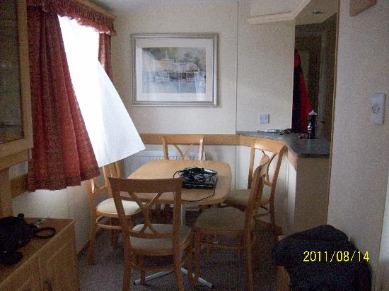 Rockhill Holiday Park: dining area