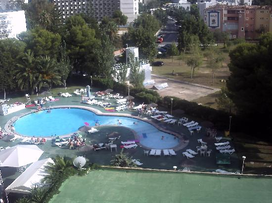 Hotel Don Bigote: view from room 608