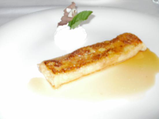 Hotel Ruta Jacobea: Desert of pancakes