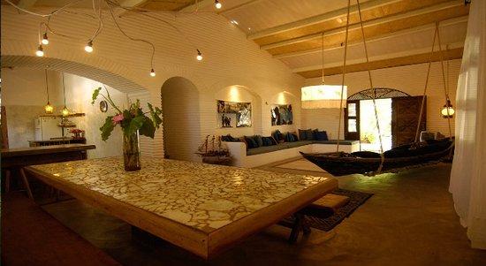 Paracuru, CE: living room area