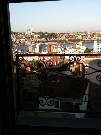 Anemon Galata: vue de ma chambre