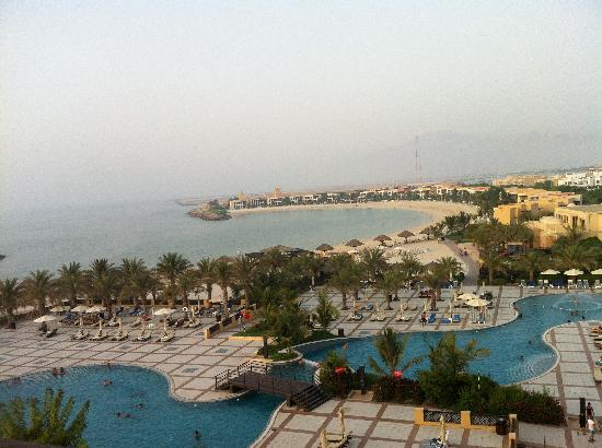 Hilton Ras Al Khaimah Resort & Spa: View of the resort at sunset from Level 5