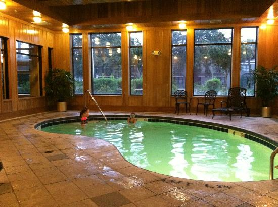 Comfort Suites Historic District: pool and hot tub