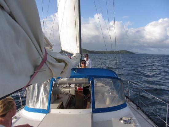 Sail Dream Weaver : Sailing lesson---no extra charge