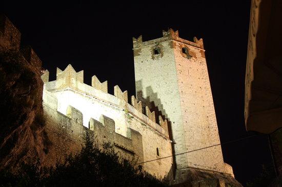 Castello Scaligero : The Castle by night