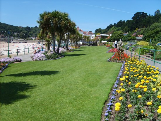 St. Brelade, UK: Greenery