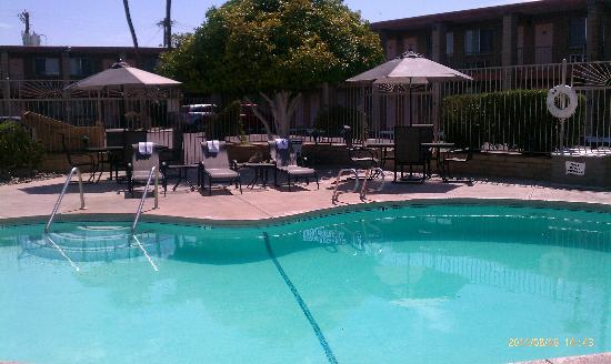 Quality Inn & Suites Phoenix NW-Sun City: wonderful new chairs at the pool