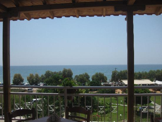 Grand Beach Hotel: view from the terrace