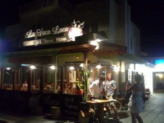 Restaurante Grill La Vaca Loca: Go there!