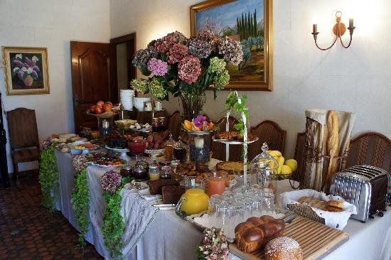 Le Balcon  Des Alpilles: The gourmet breakfast