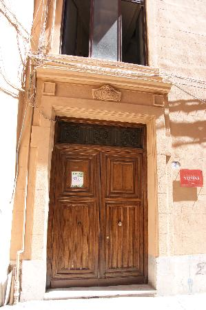 Palazzo Savona : Entrance