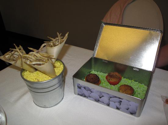 Les Magnolies: Menu degustacion-E tapes