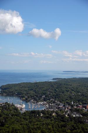 Mount Battie: gorgeous view