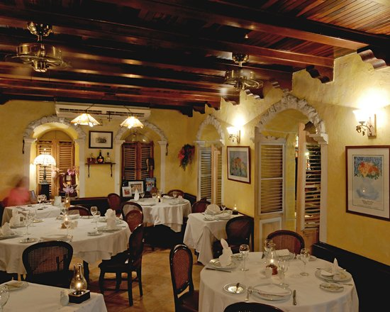 Top 10 restaurants in St Martin / St Maarten