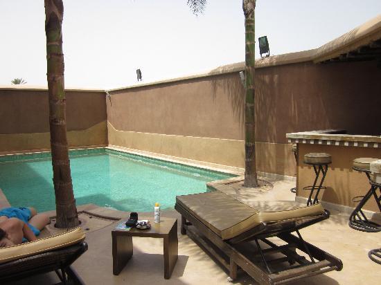 Ushuaia la villa: The swimming pool