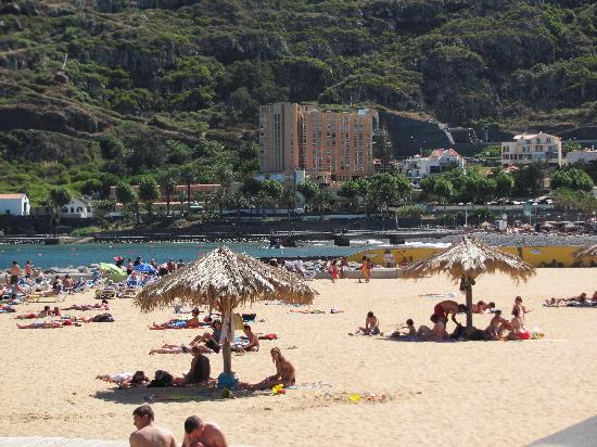 Dom Pedro Madeira : The hotel from the beach