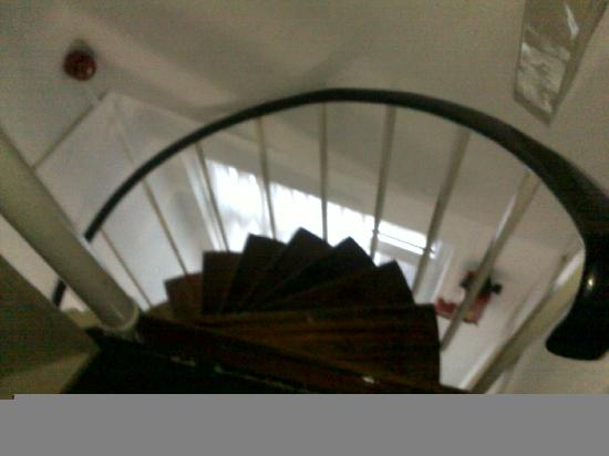 Hotel Prins Hendrik: Escalier