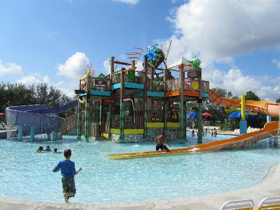 Pembroke Pines, FL: The larger of the two kiddie areas
