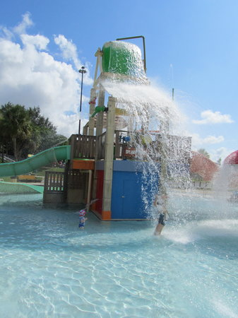 Pembroke Pines, Floride : The smaller of the two kiddie areas