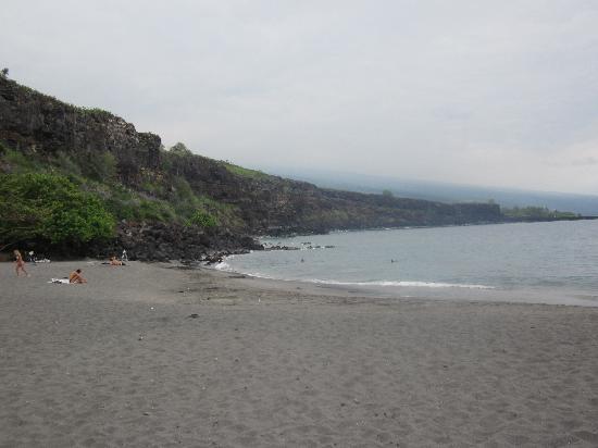 Ho`okena Beach Park: The Beach...