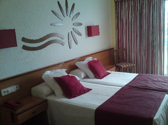 Las Vegas Hotel: Bedroom.