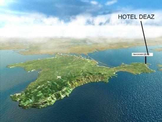 Kerch: Ukraina,Krym,hotel DEAZ