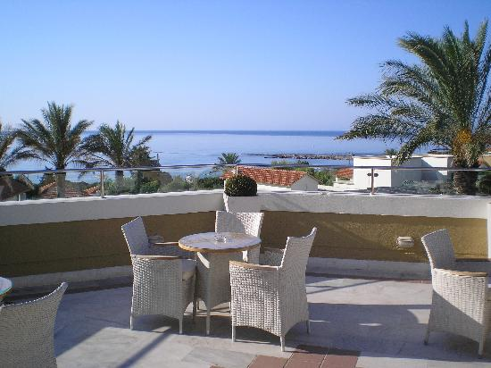Mitsis Rodos Maris Resort & Spa: Terrazza bar