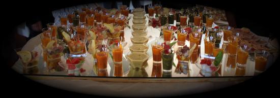 Park Hotel le Fonti: antipasti menù cerimonia....squisitissimi oltre che un meraviglioso servizio
