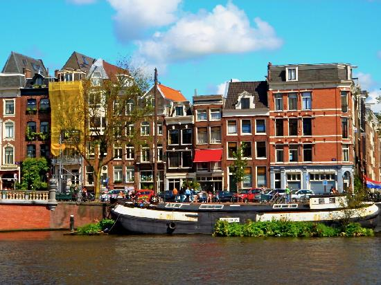 Amsterdam, The Netherlands: city canal
