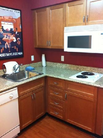 Kitchen With Cooking Range Picture Of Residence Inn Halifax