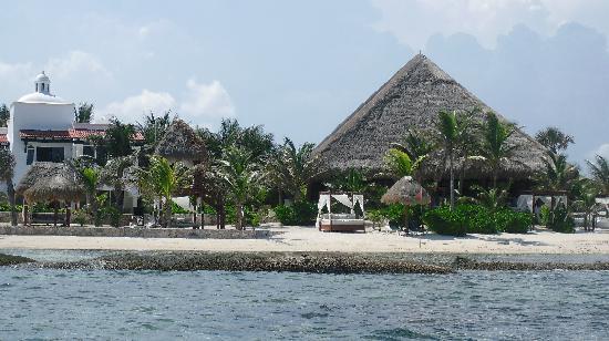 Hidden Beach Resort by Karisma: HBR from the sea