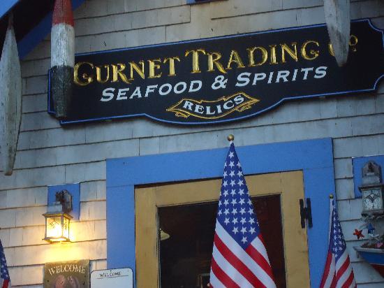 Gurnet Trading Co.: Outside the building