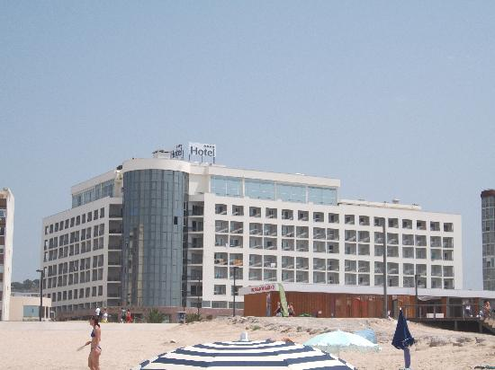 Costa da Caparica, Portugal : vista hotel
