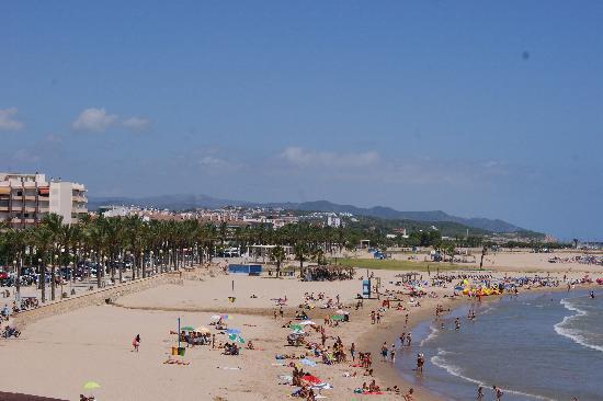 Vilanova Park: Vila Nova i la Geltru beach