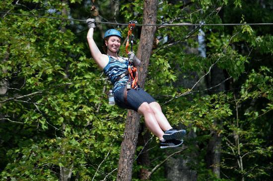 Smoky Mountain Ziplines: Daughter