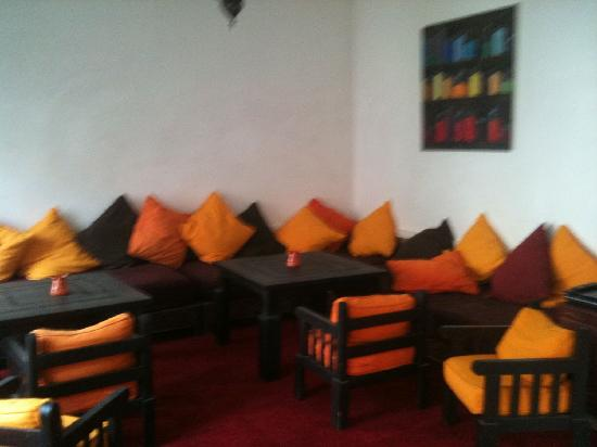 Riad Dar Nimbus: Another great communal lounge area within the Riad.