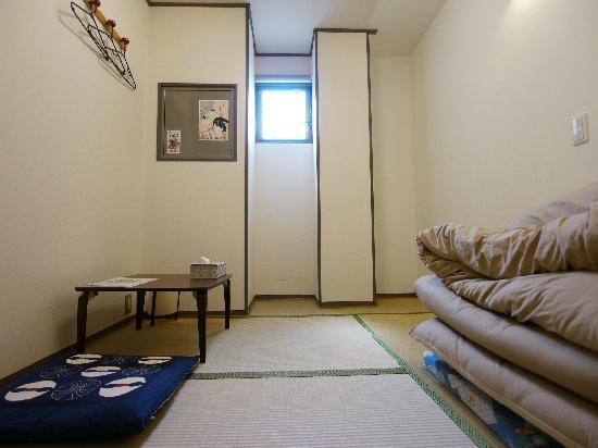 J-Hoppers Kyoto Guest House: 【シングルルーム】 ★バス・トイレ共用 ★無線、有線LAN無料接続