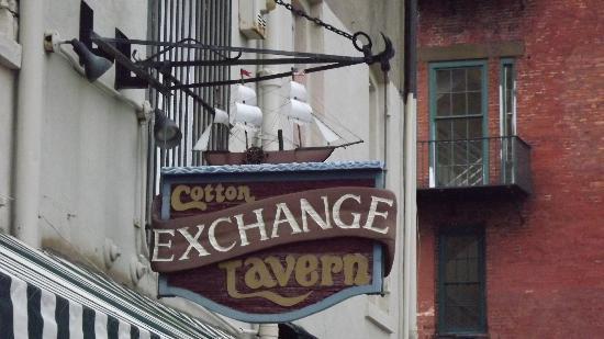 The Cotton Exchange Tavern & Restaurant: Cotton Exchange/ River Walk