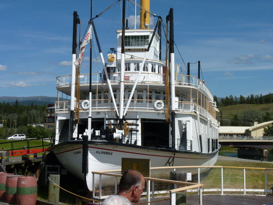 Whitehorse, Canada: the boat