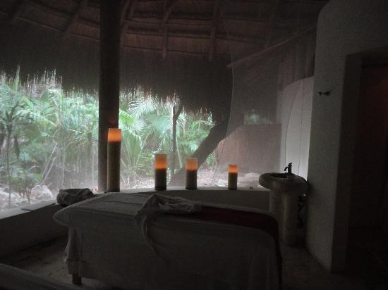 Viceroy Riviera Maya: Massage room