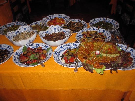 Taverna dello Spuntino: Part of the antipasto selection