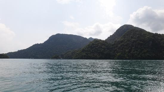 Fishing and the legendary island hopping tour : One of the view
