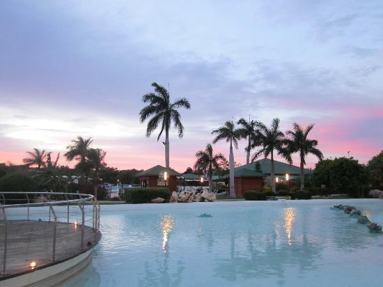 Varadero, Cuba: sunset at the resort