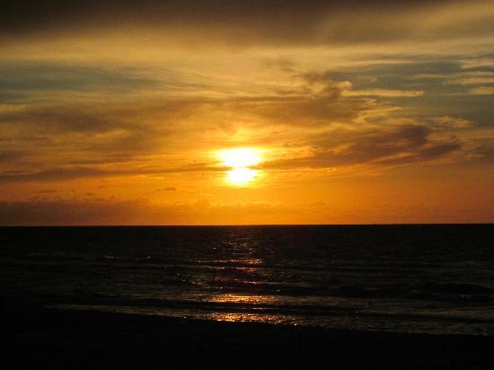 Varadero, Cuba: sunset