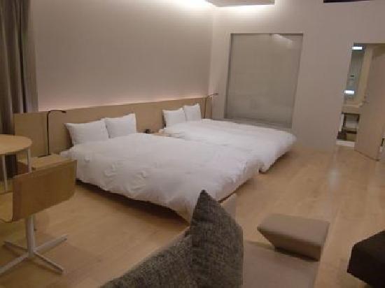 Garden Terrace Nagasaki Hotels & Resorts: お部屋は広々しています!