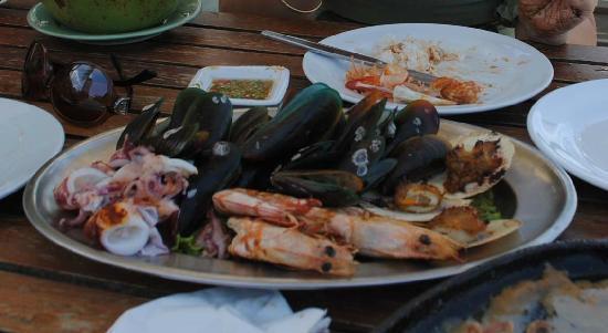 Sailom Hotel: seafood platter