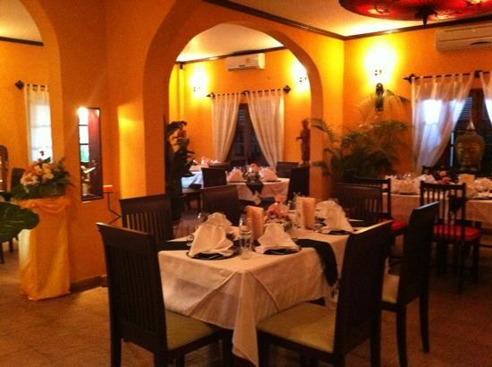 La Scala Fine Italian Boutique Restaurant : beautiful setting