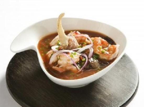 Barlovento Restaurant : ECUADORIAN CEBICHE