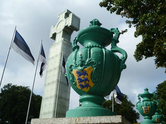 City Hotel Tallinn: Croix contemporaine