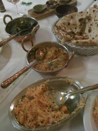 Maharajah Ristorante Indiano: riso e spinaci